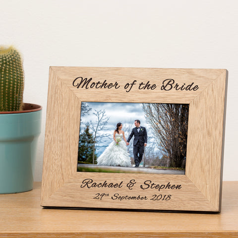 Wedding Wooden Frame 6x4 | Gifts24-7.co.uk