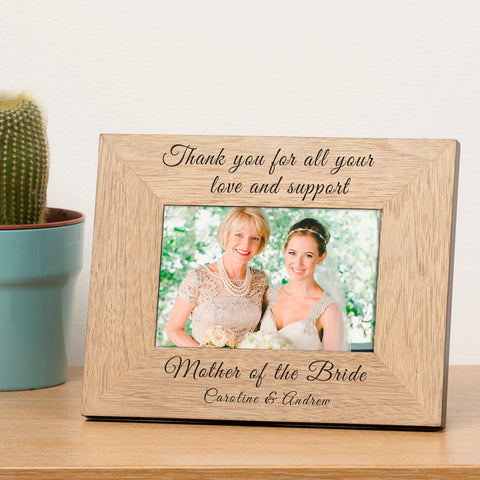 Thank you...Wooden Frame 6x4 | ShaneToddGifts.co.uk
