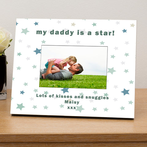 My.....is a star Personalised Wooden 6x4 Photo Frame