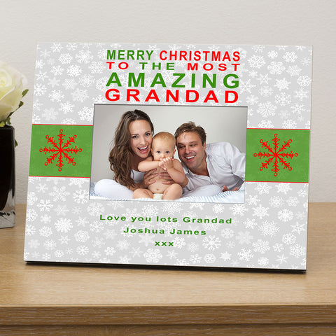 Merry Christmas to...personalised photo frame - Shane Todd Gifts UK
