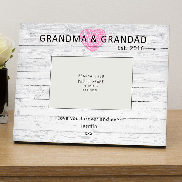 Grandma & Grandad Est...personalised photo frame - Gifts24-7.co.uk