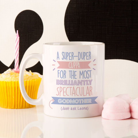 Personalised Best Godmother...Just Ask Mug