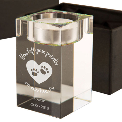 Pet Memorial Tealight Holder | ShaneToddGifts.co.uk