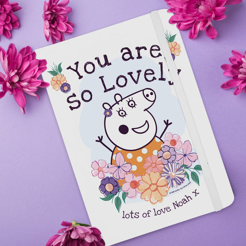 Peppa Pig™ Mummy Pig Floral Notebook