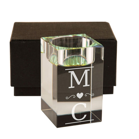 Couple's Initials Tealight Holder