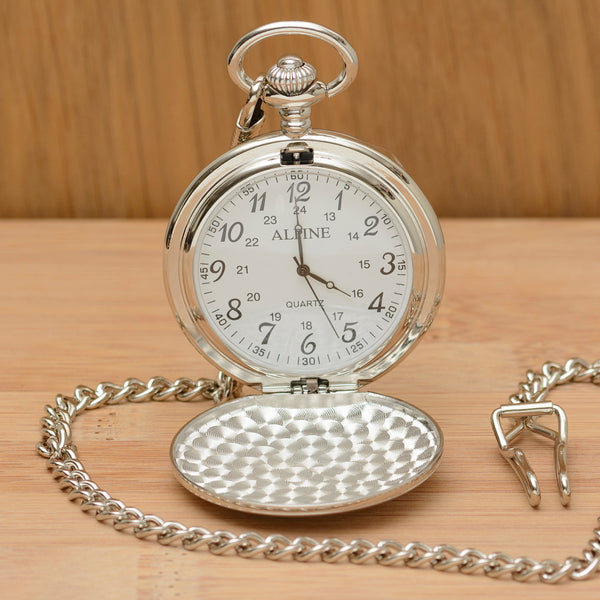 Personalised Pocket Watch - Dad of all the walks..