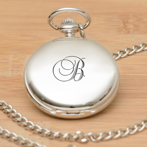 Personalised Pocket Watch - Initial