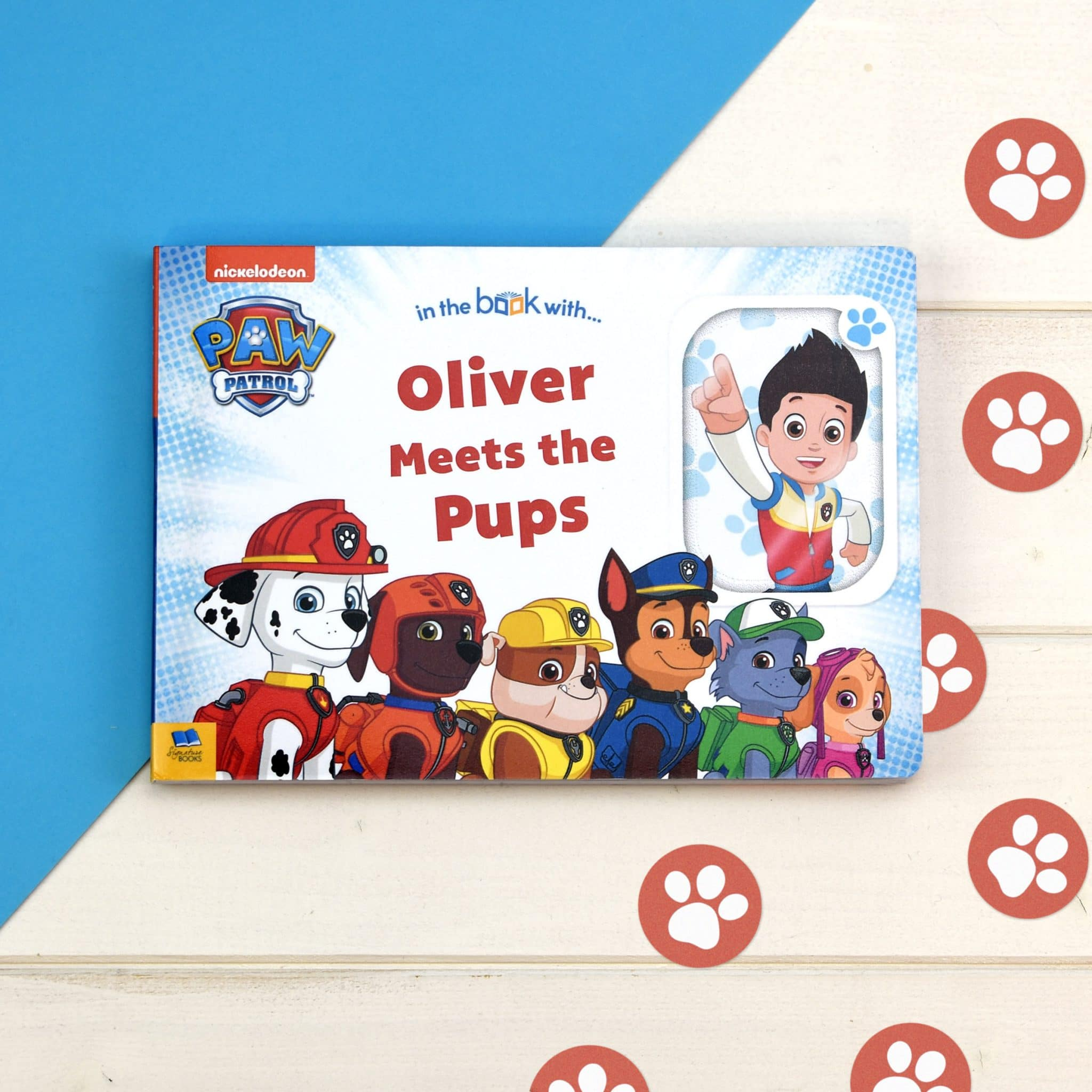 Personalised Paw Patrol Meet The Pups Board Book, Scrapbooking & Stamping Kits by Low Cost Gifts