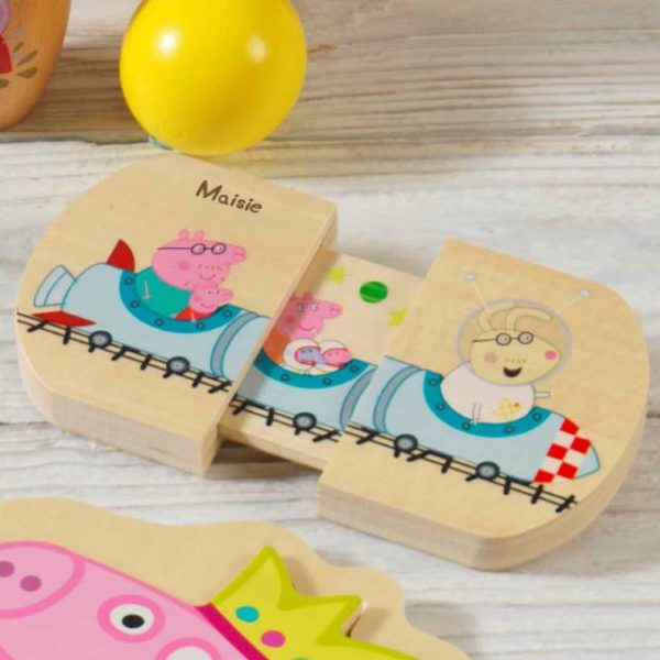 Personalised Peppa Pig Pull & Play, Gift Giving by Low Cost Gifts