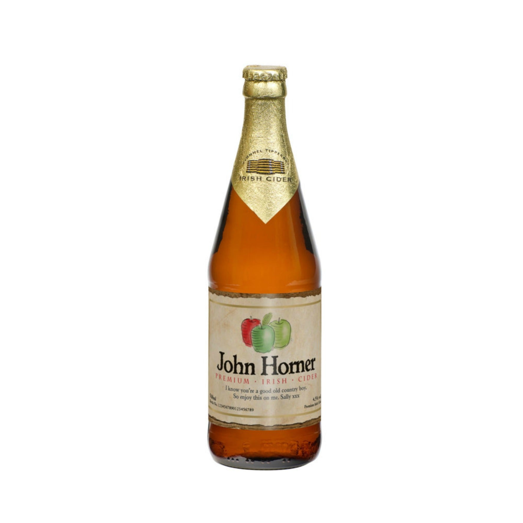 Personalised Modern Label Cider, Cider by Gifts24-7