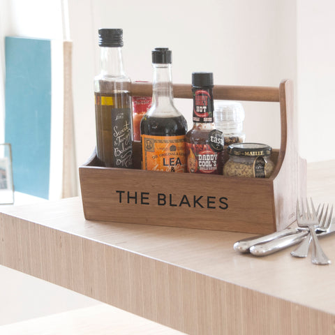 Personalised Condiment Holder | ShaneToddGifts.co.uk