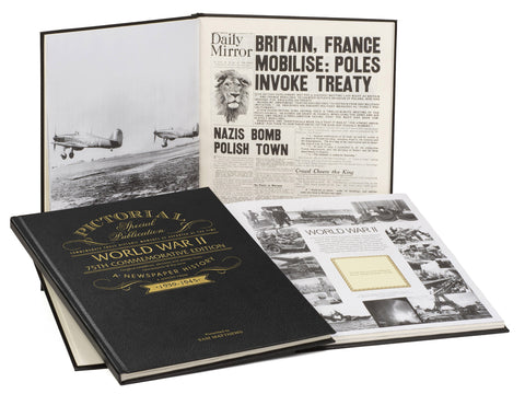 BUY WW2 75th Anniversary Pictorial Edition Newspaper Book