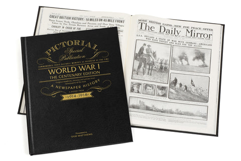 BUY WW1 Centenary Pictorial Edition Newspaper Book
