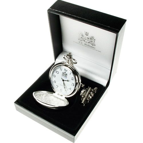 Engraved Godfather Pocket Watch