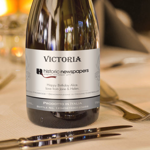 Personalised Traditional Corporate Prosecco