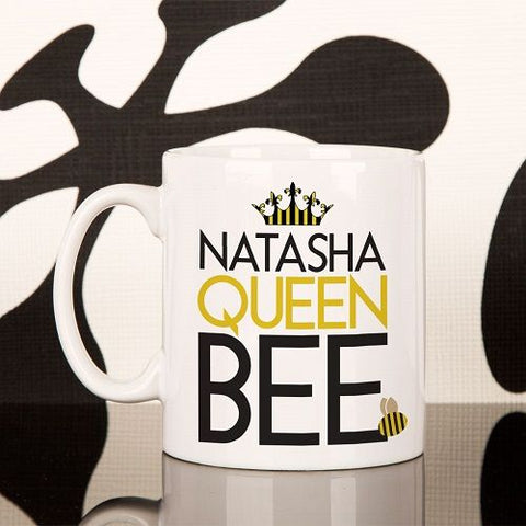 Queen Bee Personalised Mug for Her