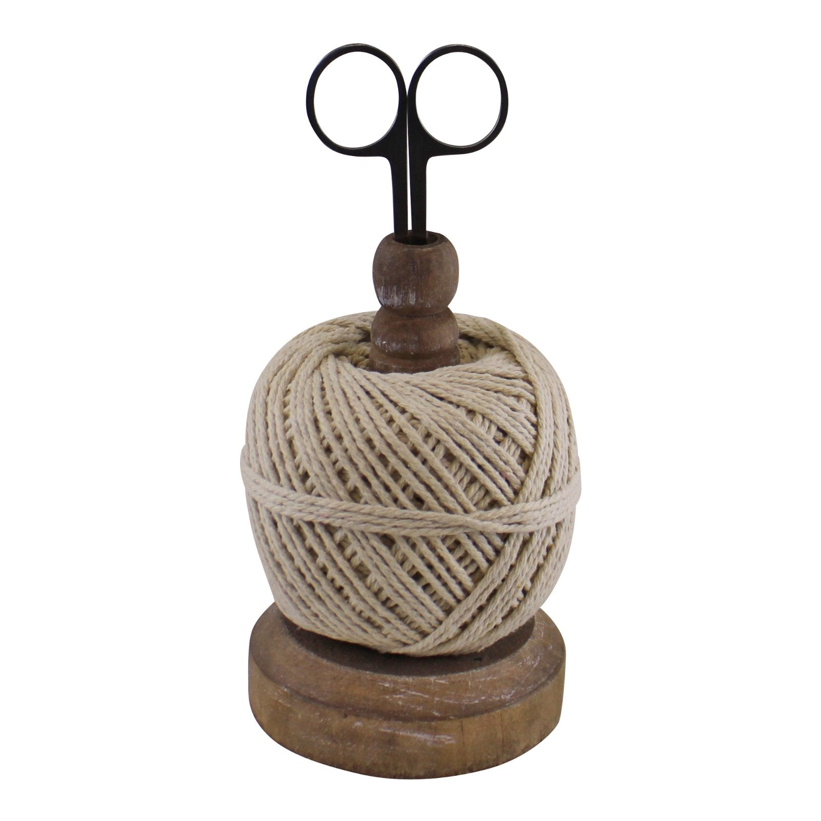 Craft Ball Of String On Stand With Scissors, Art & Crafting Tools by Low Cost Gifts