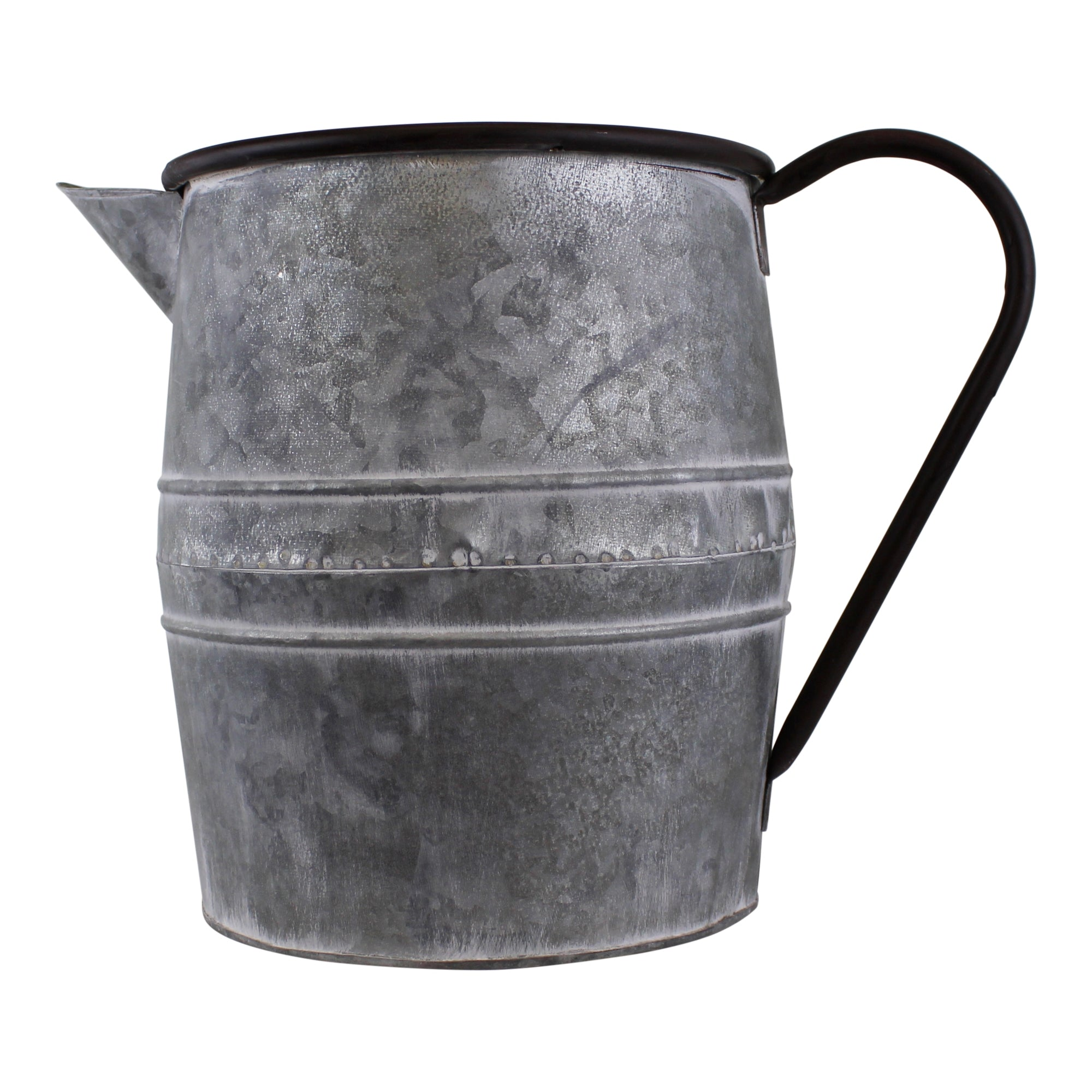 Vintage Style Metal Jug Garden Planter, Lawn & Garden by Low Cost Gifts