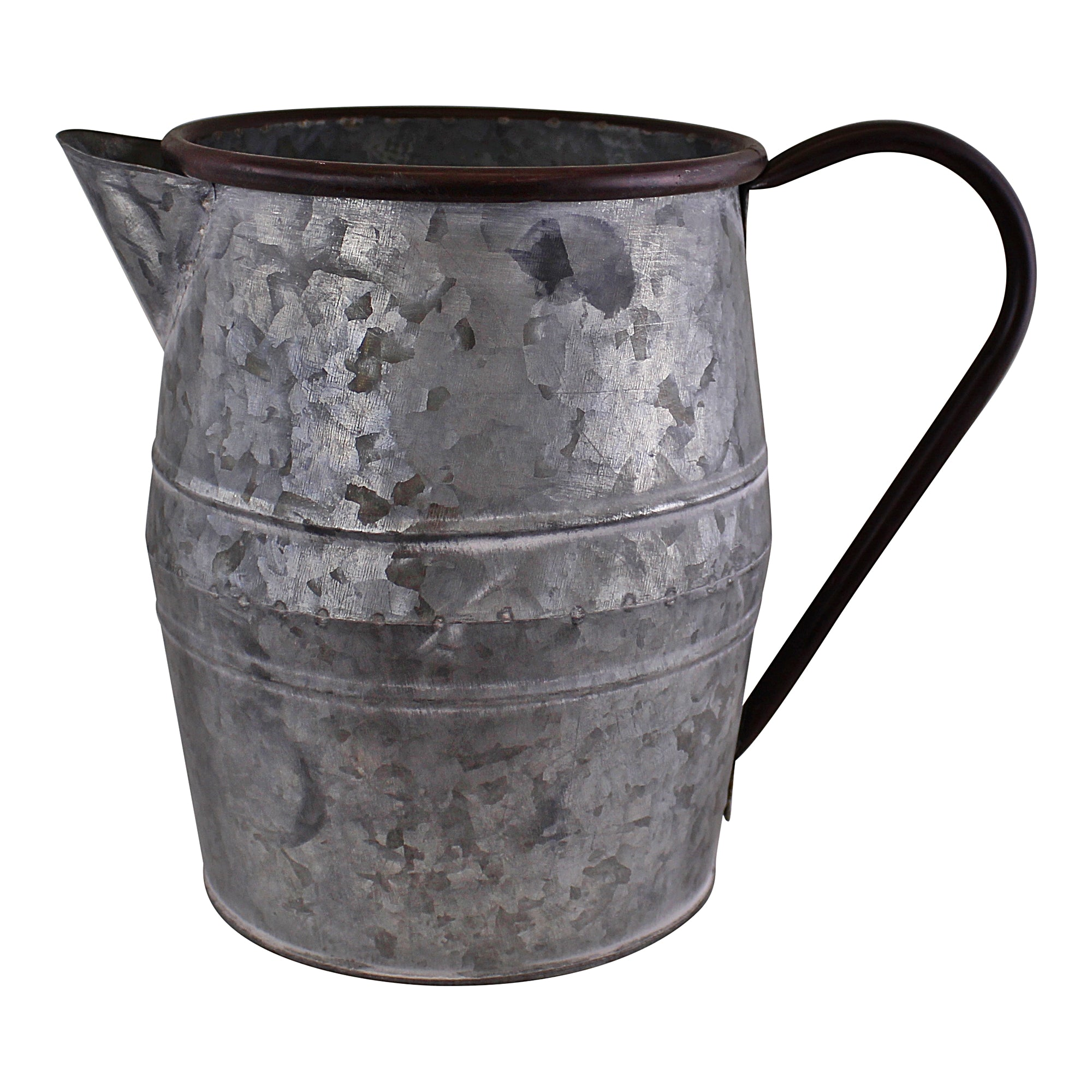 Vintage Style Metal Jug Garden Planter, Small, Lawn & Garden by Low Cost Gifts