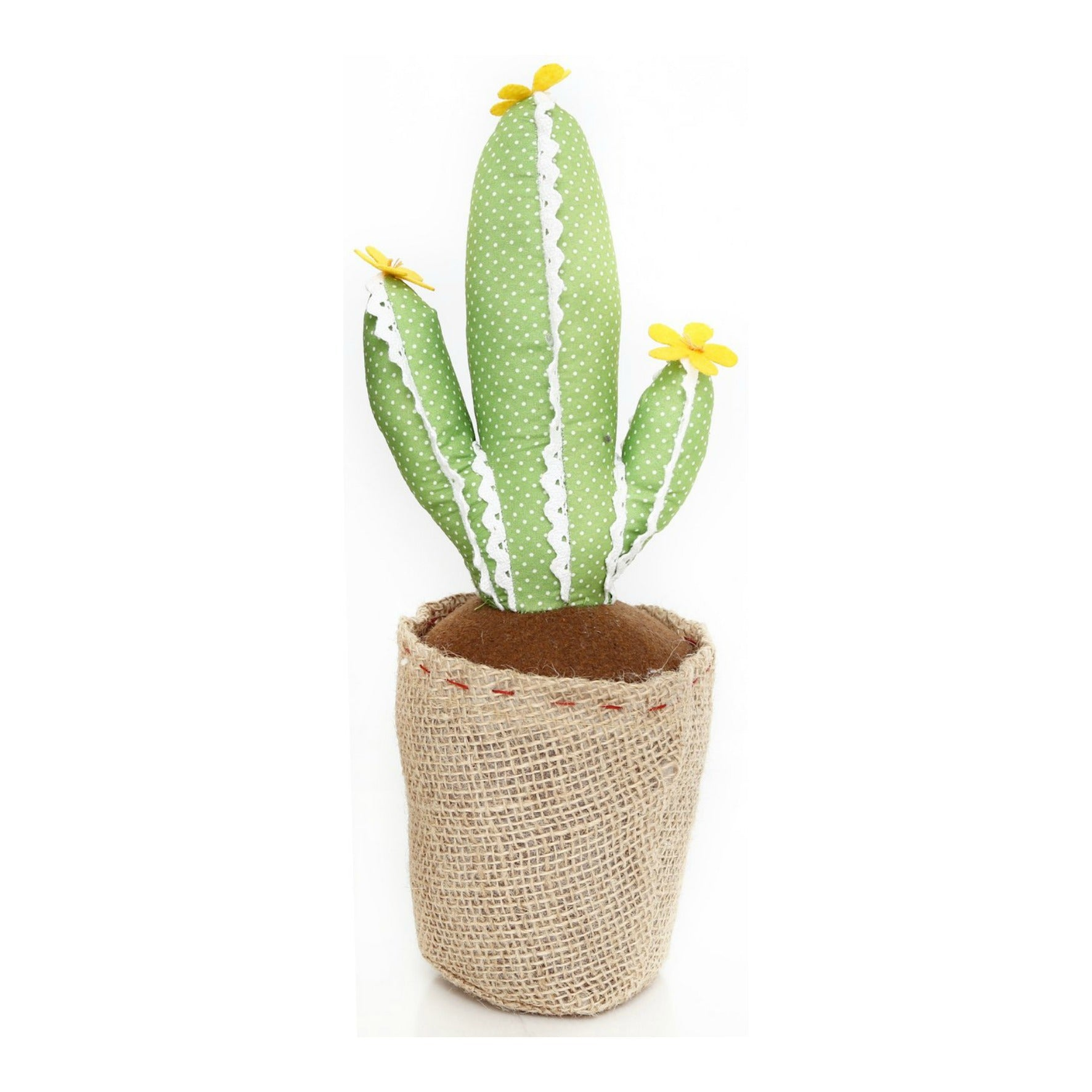 Light Green with Lace Cactus Doorstop 34cm, Building Materials by Gifts24-7