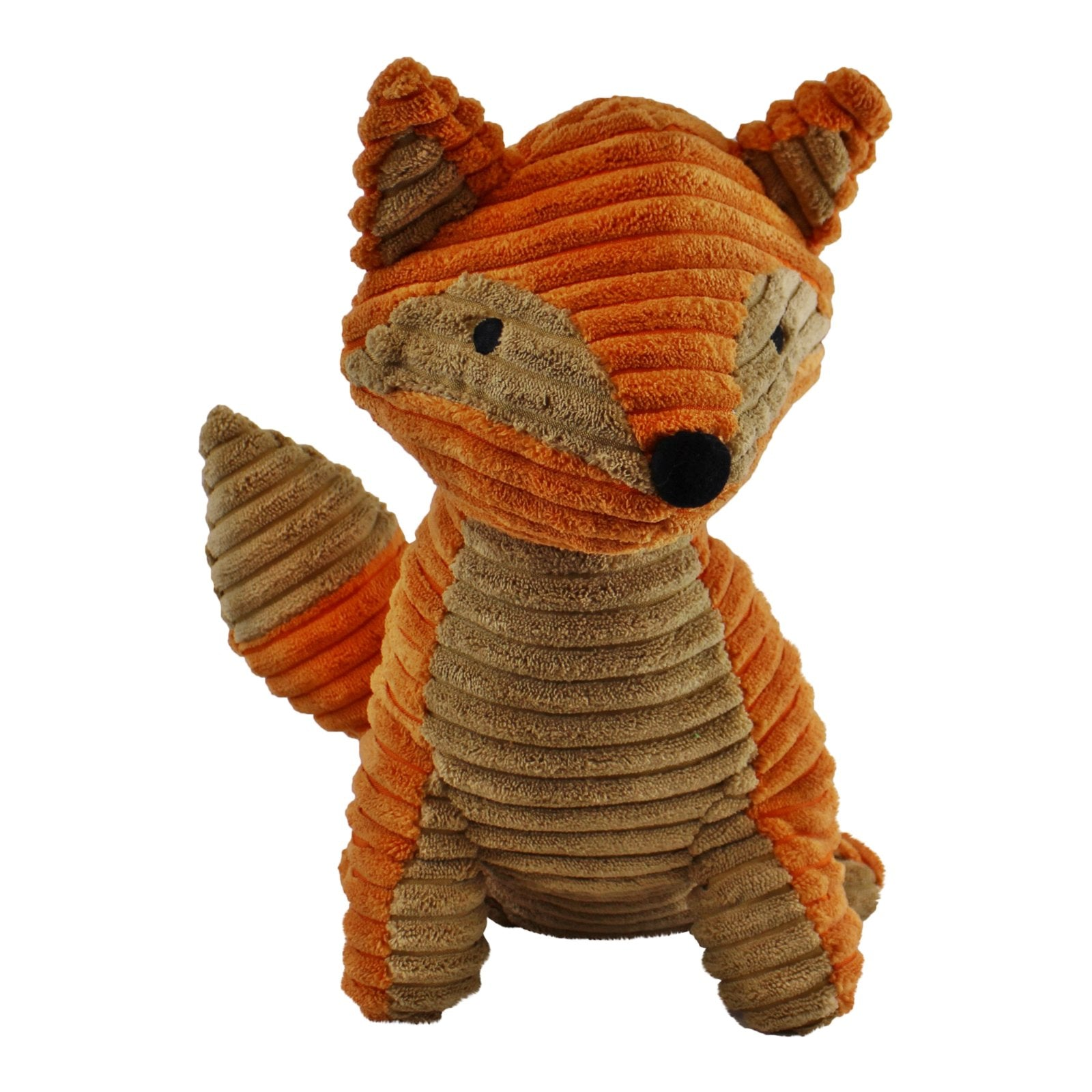 Ribbed Fabric Fox Door Stop, 30cm, Building Materials by Gifts24-7
