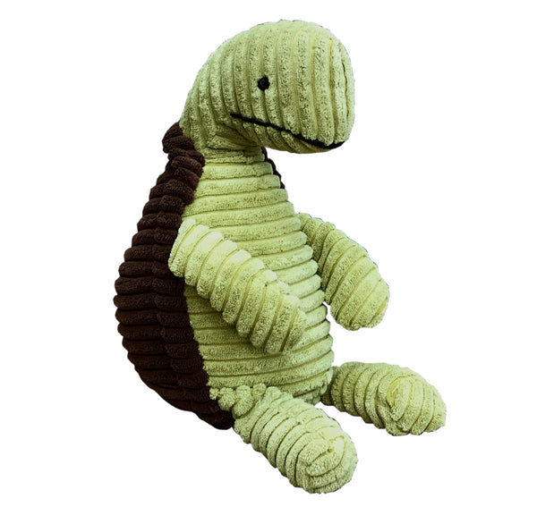 Green Fabric Turtle Doorstop