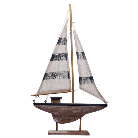 Tall Sailing Boat Nautical Decoration