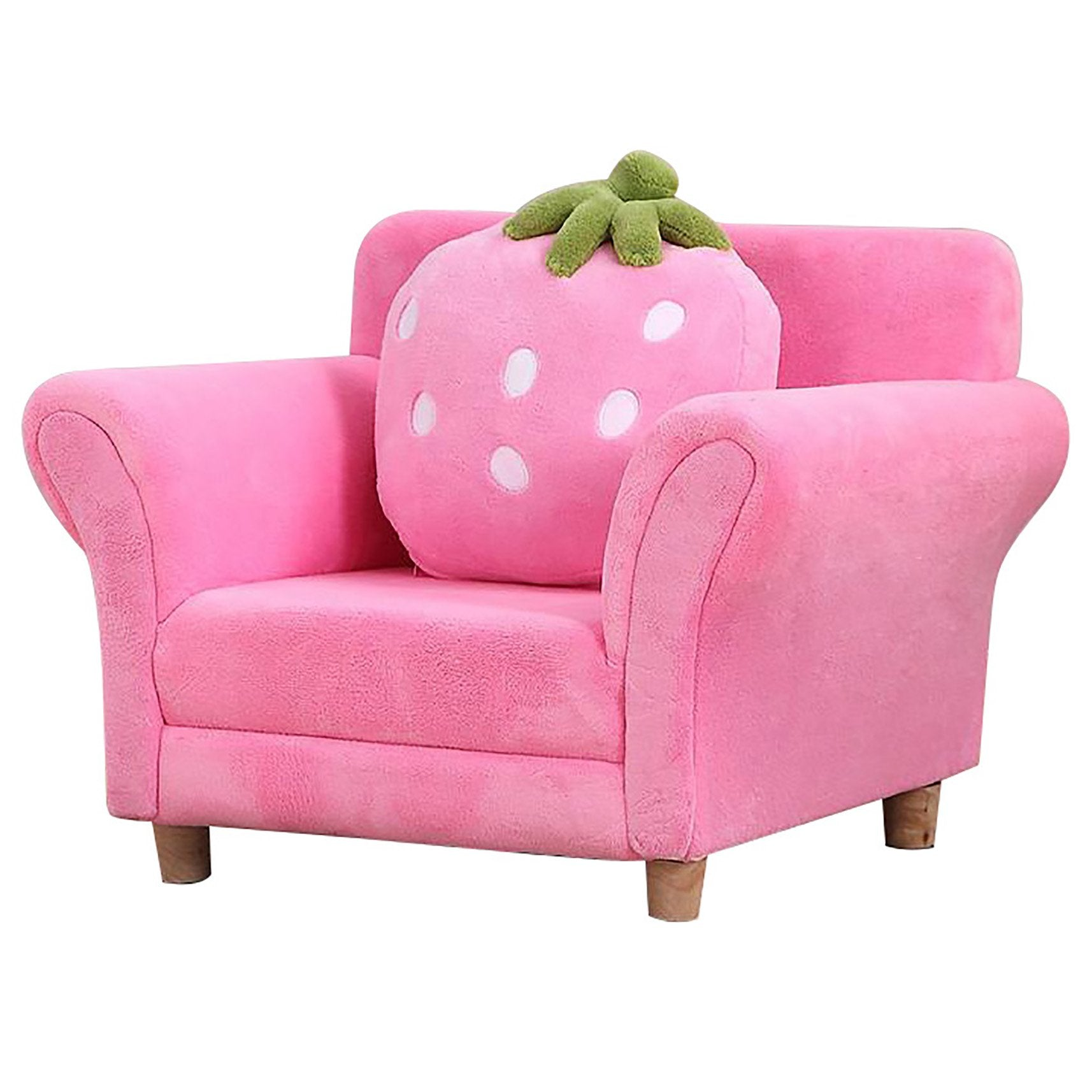 Strawberry Single Sofa, Furniture by Low Cost Gifts