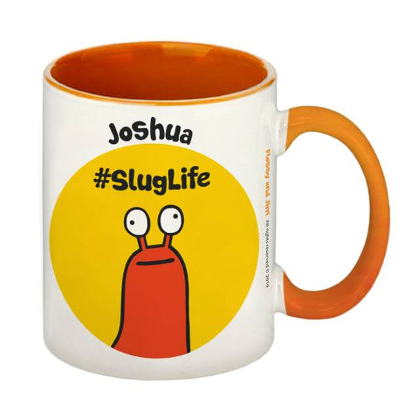 #SlugLife Orange Inside Mug