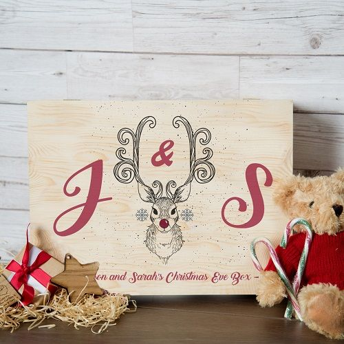 Rudolph Bespoke Christmas Eve Box for Couples