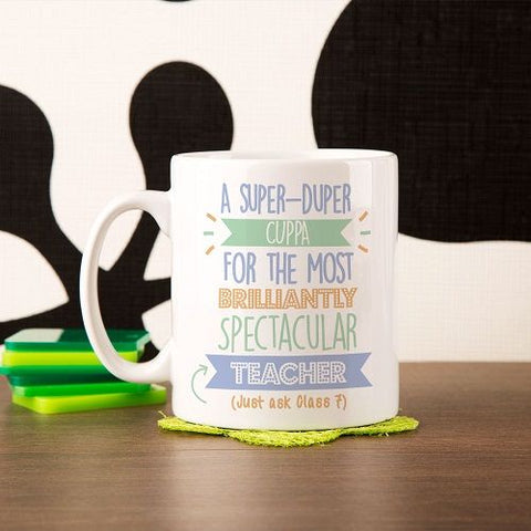 Personalised Best Teacher (Male)...Just Ask Mug