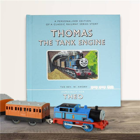 Personalised Thomas the Tank Engine Book - Shane Todd Gifts UK