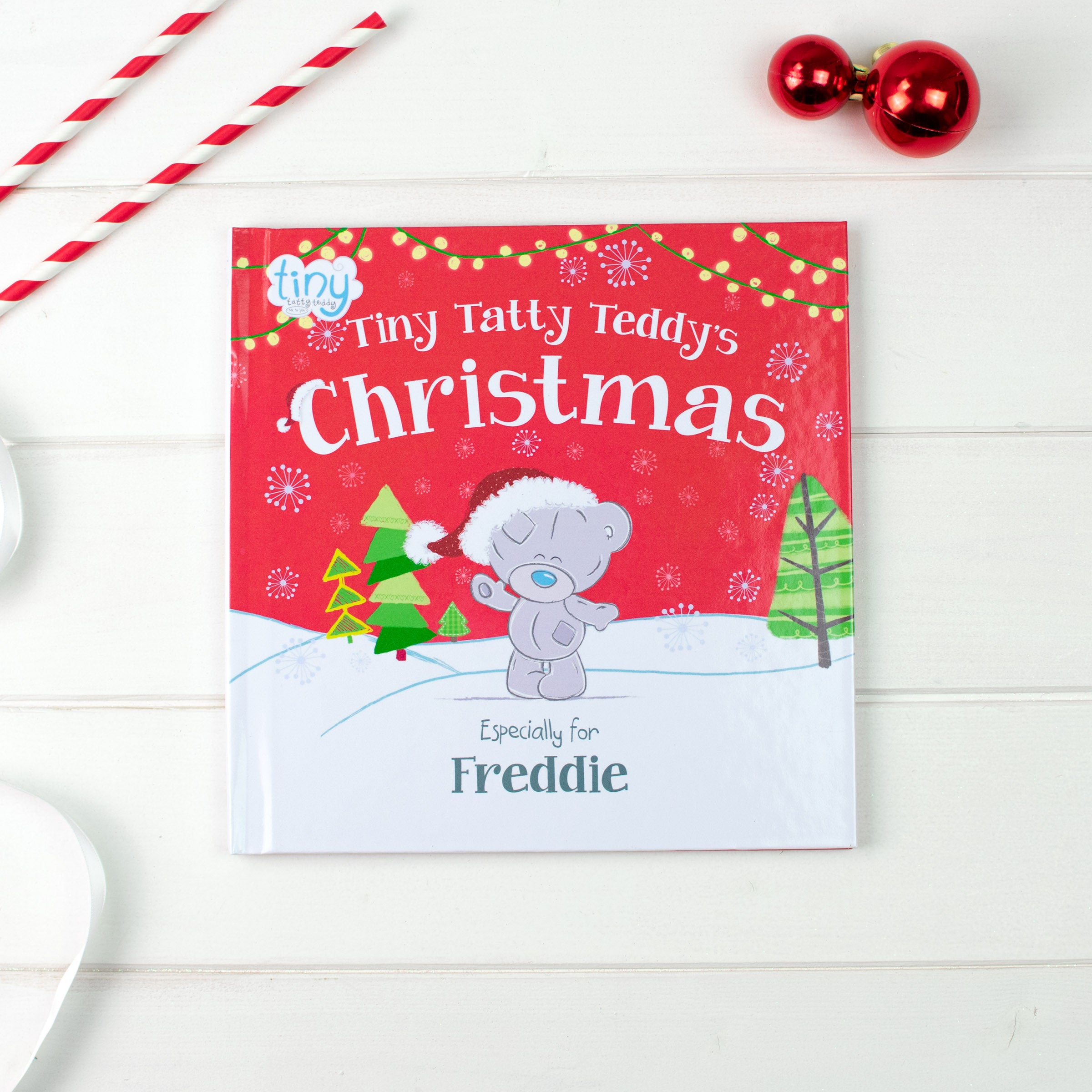 Personalised Tiny Tatty Teddy's Christmas Book, Media by Low Cost Gifts