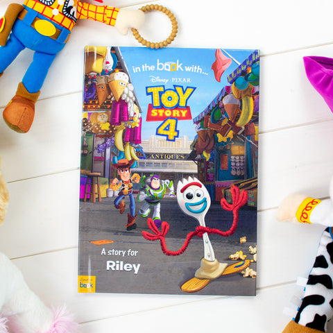 Toy Story 4  - Personalised Book