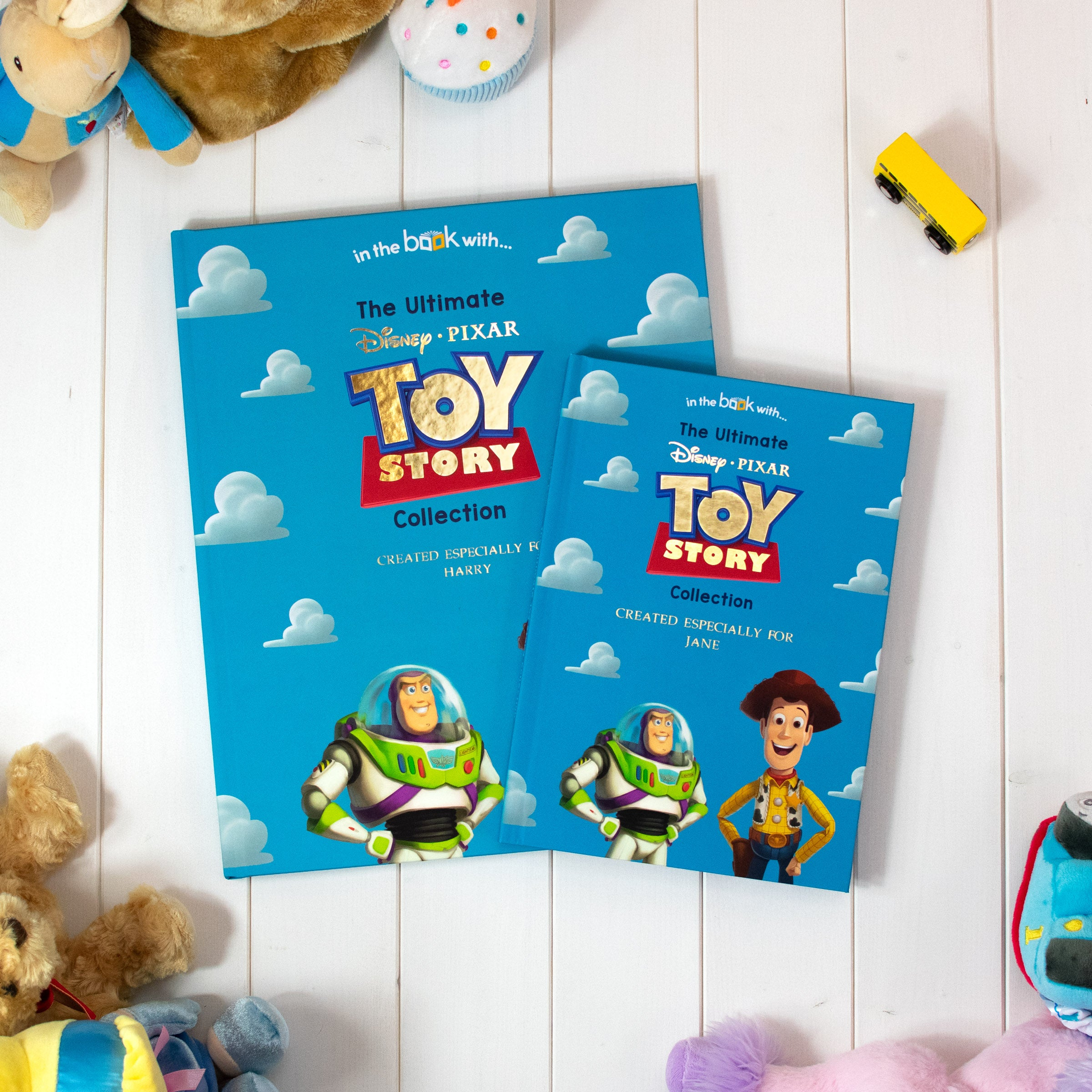 Premium Disney Personalised Toy Story Collection Book, Media by Low Cost Gifts