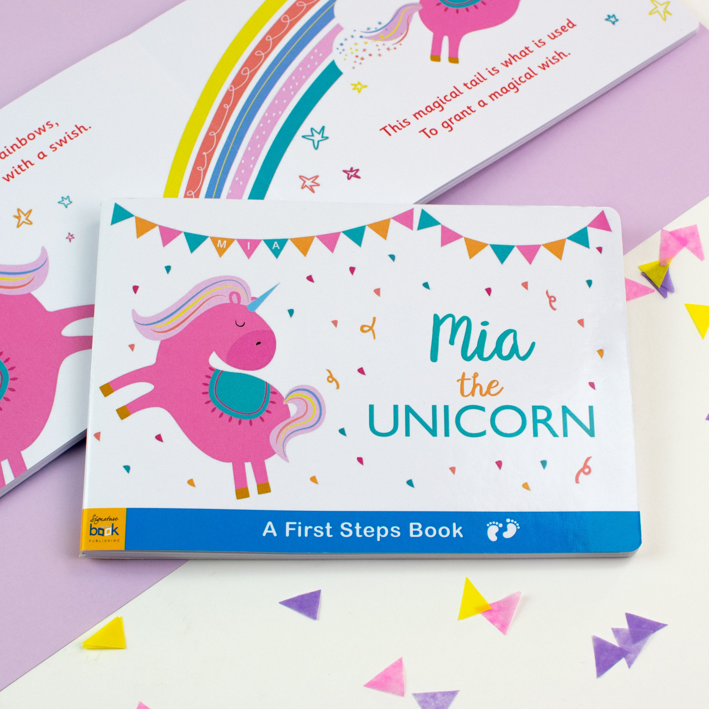 Personalised Unicorn Board Book, Scrapbooking & Stamping Kits by Low Cost Gifts
