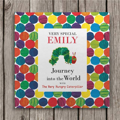 Personalised Journey into the World with the Very Hungry Caterpillar