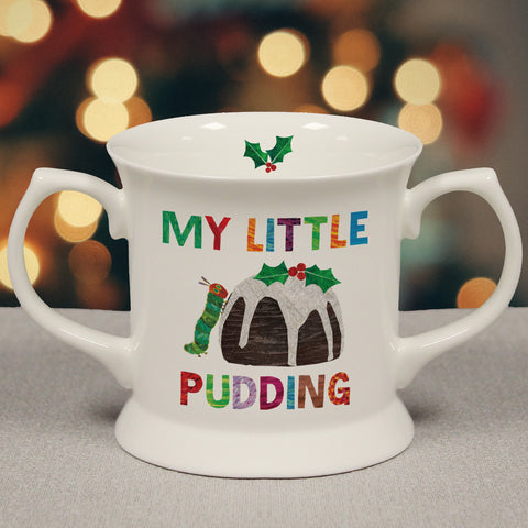 Personalised Very Hungry Caterpillar My Little Pudding Loving Cup
