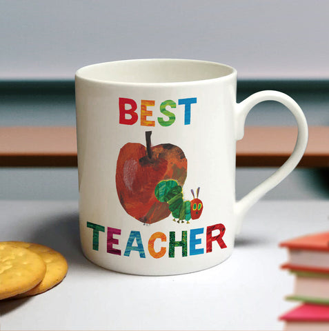 Very Hungry Caterpillar Best Teacher Large Balmoral Mug