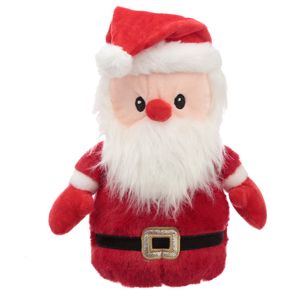 Fun Christmas Santa Plush Door Stop