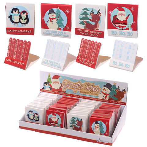 Fun Christmas Design Matchbook Nail File | ShaneToddGifts.co.uk