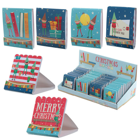 Fun Nail File Matchbook - Christmas Elf | ShaneToddGifts.co.uk