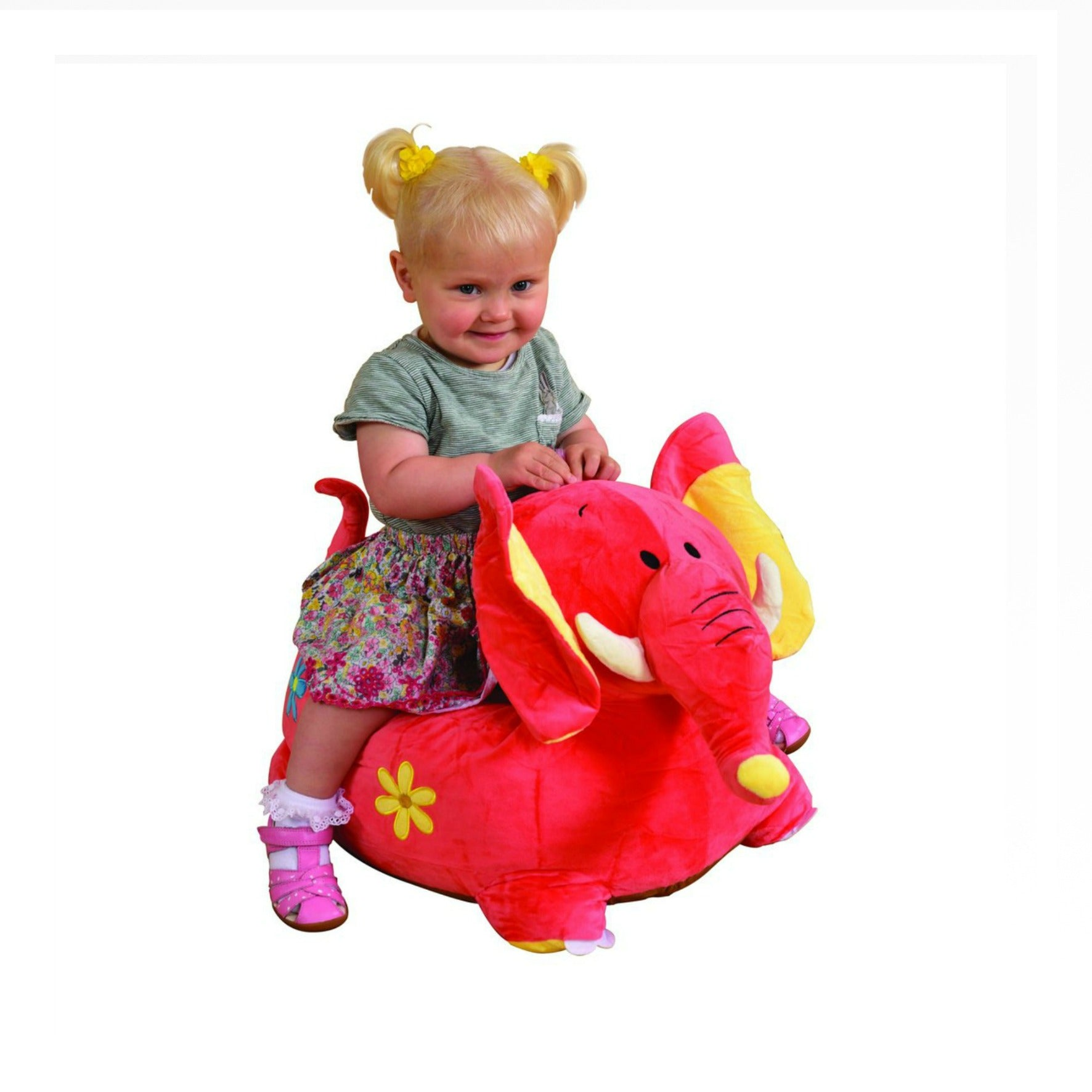 Plush Dragon Sofa Riding Chair (Pink), Baby & Toddler by Low Cost Gifts