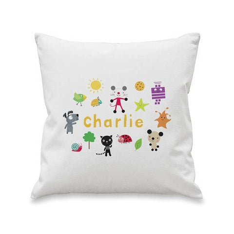 Arty Mouse Scatter Character Cushion Cover