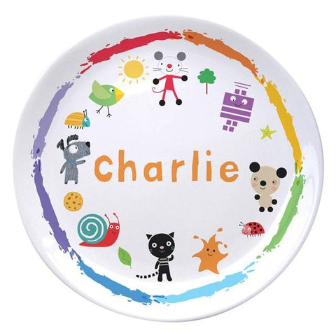Arty Mouse Scatter Character Plate | ShaneToddGifts.co.uk