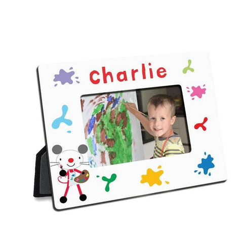 Arty Mouse Splash Photo frame - Shane Todd Gifts UK