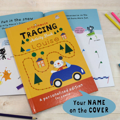 Arty Mouse Tracing - Hardback - Shane Todd Gifts UK