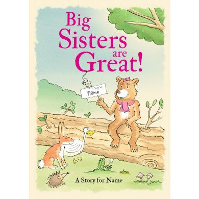 Big Sisters are Great - Softback | ShaneToddGifts.co.uk