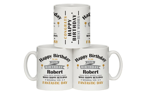 Birthday Celebration Mug | ShaneToddGifts.co.uk