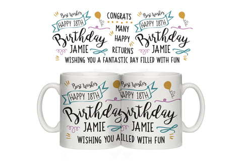 Birthday Slogan Mug